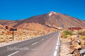 Straße zum Teide