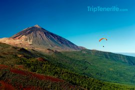 Paragliding Teide
