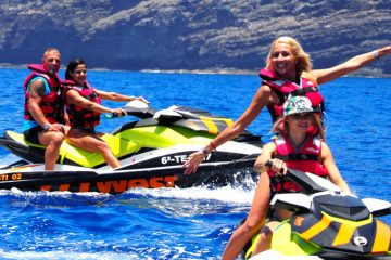 JetSki West-Teneriffa mit Freunden