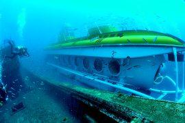 Unterwasser U-Boot